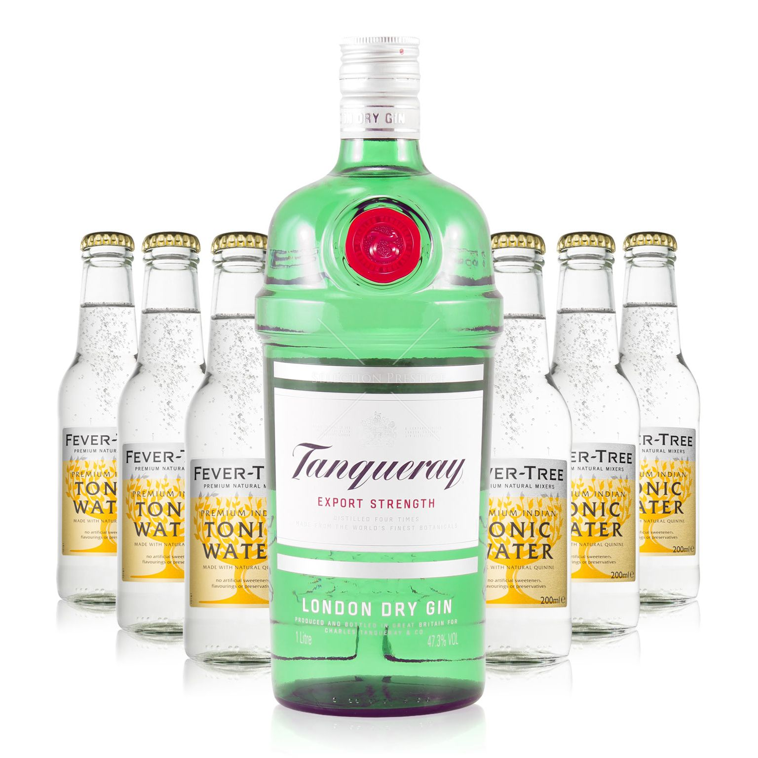 Gin tonic set xxii tanqueray london dry gin fever for Best mixers for gin
